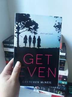 get even by gretchen mcneil