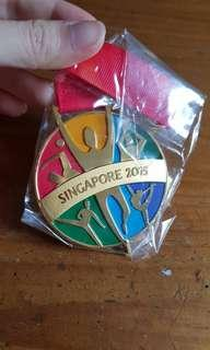 🚚 28th SEA Games Singapore 2015 Collector's Medal
