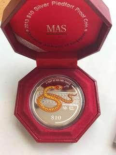 2013 $10 silver proof coin
