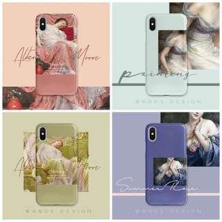 🚚 Artist picture iPhone covers flower design