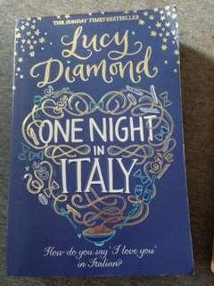 One Night in Italy by Lucy Diamond