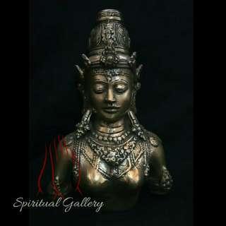 Patung Dewi Parwati Model Torso (Setengah Badan)