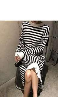 🚚 New Aystermical Striped Dress