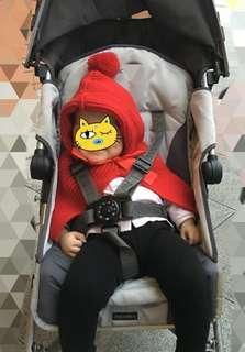 韓國制造 1歲 BB女斗篷