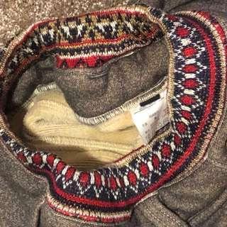 日本 Barock 毛毛內層超暖長褲