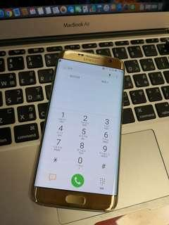 🚚 Samsung S7 edge gold