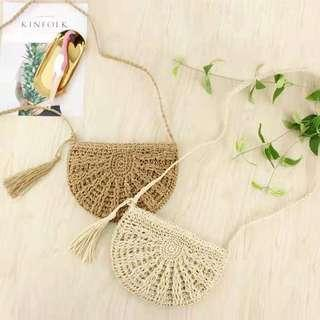 woman fashion bag beach holiday handmade items