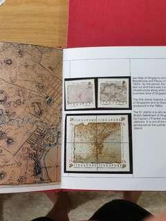 Singapore 1989 stamps set( in Album) 6 types