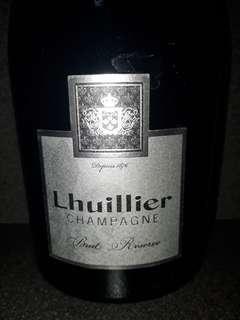 Champagne Lhuillier 750mk. France
