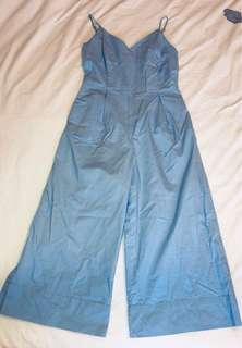 🚚 Something borrowed jumpsuit in pastel blue