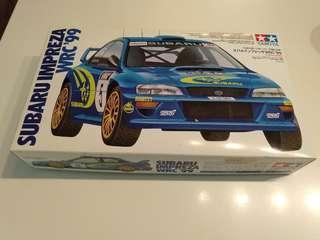 Tamiya Subaru Impreza WRC'99 1/24 Plastic model kit