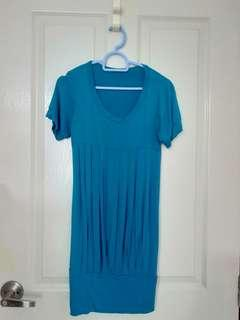 Dress - Turquoise Simple