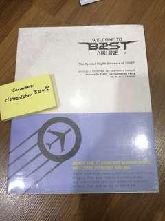Beast Welcome to B2ST AIRLINE 1st Concert Making Book