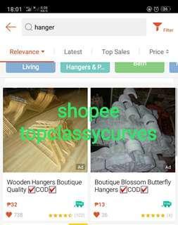 Wooden Hangers New Stocks