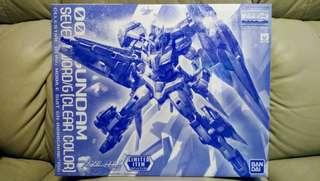 BANDAI MG 1/100 00 GUNDAM SEVEN SWORD/G CLEAR COLOR 高達 7劍 七劍 彩透版