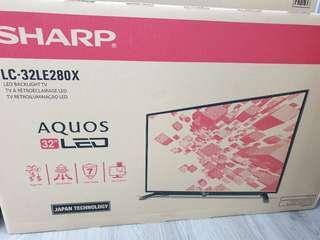 Sharp 32 inches Digital Ready LED TV with 5 Years warranty!!! Best Offer Ever!!!