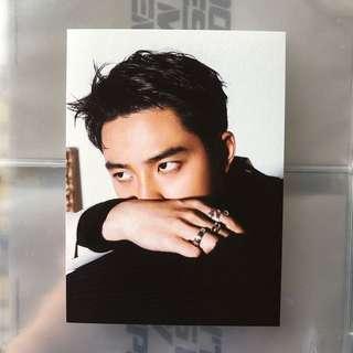exo kyungsoo / D.O dmumt postcard