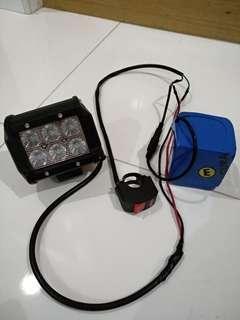 Escooter Fog Light with 12v battery
