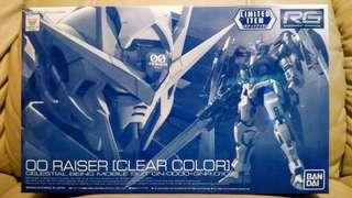 BANDAI RG 1/144 高達 GUNDAM 00 RAISER CLEAR COLOR
