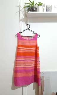Forever new ladies dress size 10 bright fun funky Gorman style