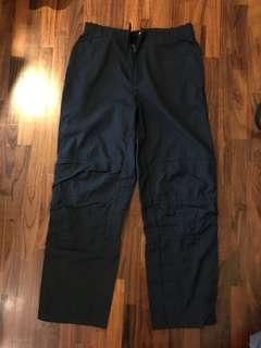 Nike navy blue track pants size 34