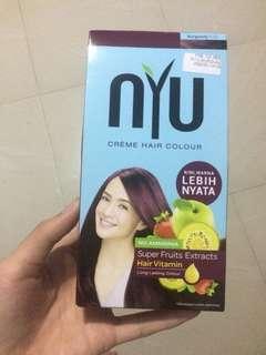 Nyu hair color burgundy