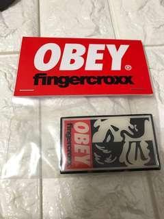 Obey 扣針 心口針