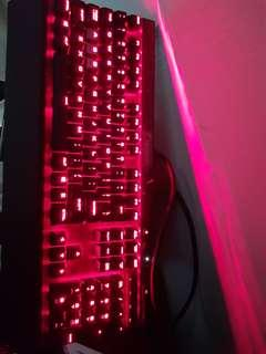 CORSAIR K70 LUX [BLUE SWITCH] RED LED, NO RGB