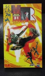全新絕版未開封Medicom RAH220 MR Masked Rider 矇面超人 仮面新2號 1:8 figure