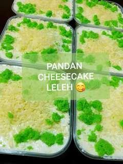 Pandan Cheesecake Leleh