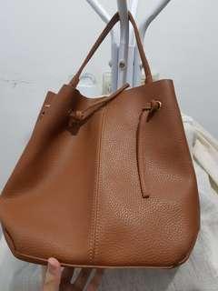 Brown bag tas jinjing