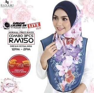 Hijabs by Hanami
