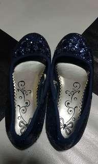 Blue sequence shoes