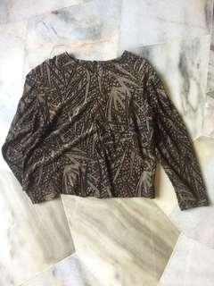 Bamboo vintage top