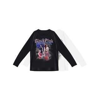 [SQUAREUP] OFFICIAL BLACKPINK LONG SLEEVE T-SHIRTS