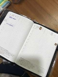 🚚 Hobonichi A6 Avec (book 1 and 2)with Jurassic Park Cover