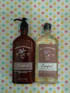 BN Bath & Body Works Aromatherapy 'Comfort' Items