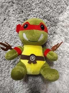 Plushie: Raphael (Teenage Mutant Ninja Turtles)