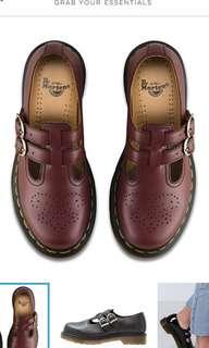 Dr. Martens 8065 Mary Janes ( cherry 🍒 red) Size 38