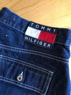 Tommy Hilfiger 深藍牛仔短裙💙