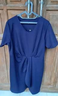 Jual Dress Blue size XXL
