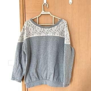 Woman's top in grey from DEICY bought at Hysan Place