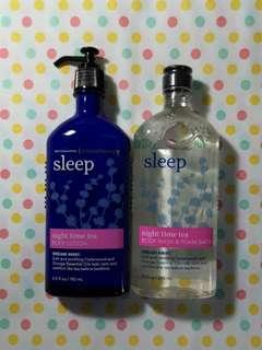 BN Bath & Body Works Aromatherapy - 'Sleep - Night Time Tea' Items