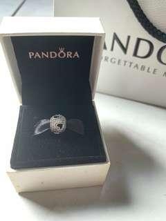 Pandora Charm - Tumbling Hearts