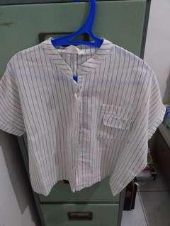 This Is April - Stripe Blouse