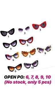 Kacamata Fashion - Flip Up Vintage Oversize