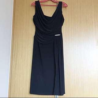 Black Cocktail Dress from Debenhams (XL)