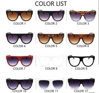 Kacamata Fashion - Vintage Oversize Frame