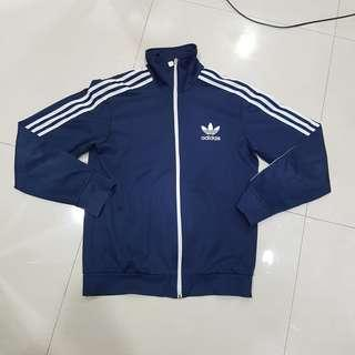 AUTHENTIC ADIDAS ORIGINAL EUROPA TRACK TOP SUIT NAVY MEN