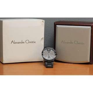 Alexandre Christie AC 8562 All Black Saphire Original